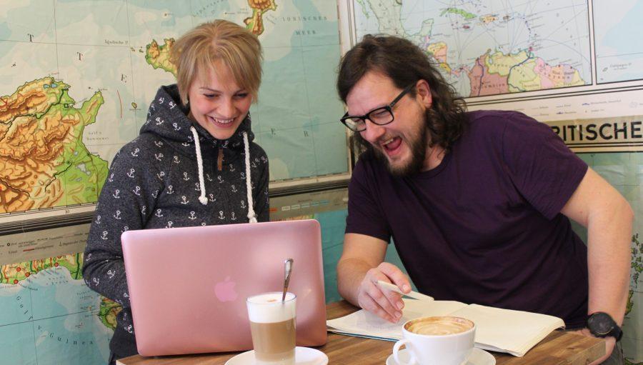 """Interview#1: Ralf mit Sandra """"Leben, Schreiben, Laufen"""""""